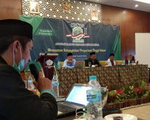 Ketua STID Mohammad Natsir, Dr. Dwi Budiman Assiroji, M.Pd.I saat menghadiri MUNAS I AKBAM